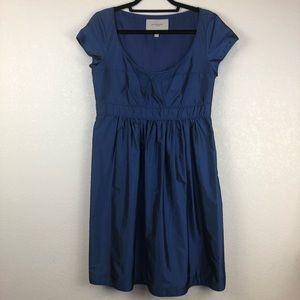 Burberry London   Blue Silk Blend Dress